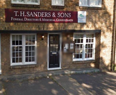 T H Sanders & Sons Funeral Directors, Richmond Upper Ham Rd