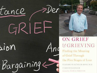 The Sixth Stage of Grief: David Kessler on grief, pain –  and living