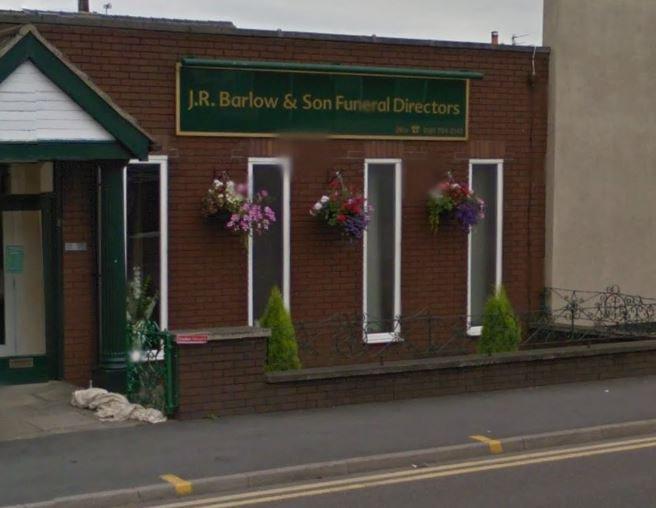 J R Barlow Funeralcare, Pendlebury