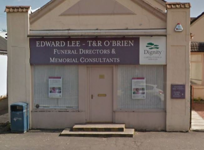 Edward Lee & Sons Funeral Directors, North Lanarkshire, funeral director in North Lanarkshire