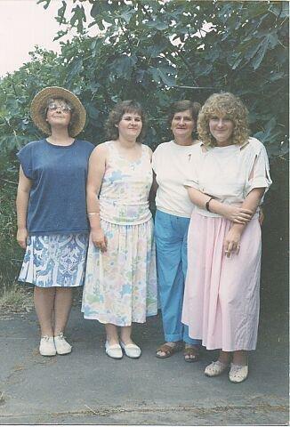 Rosemary, Mary, MUM and Margaret