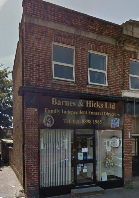 Barnes & Hicks Independent Funeral Directors Ltd