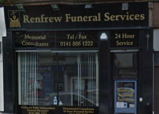 Renfrew Funeral Services Ltd