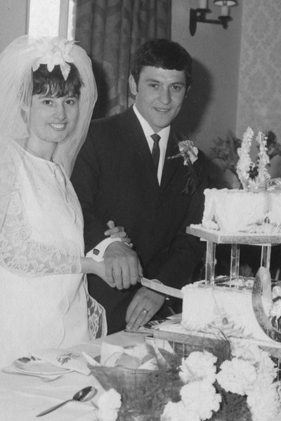 Our wedding in June 1969