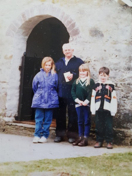 My loving grandad leanne me and liam a old photo but a favourite.                                          I miss u so much grandad, more and more each day love u forever xxxxxxxxxxxxxxxxxx❤️