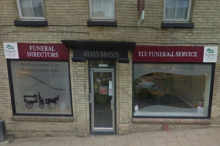 Ely Funeral Directors, Forehill