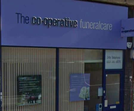 The Co-operative Funeralcare, Edmonton