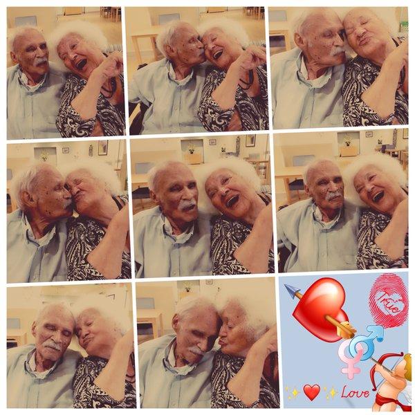 Sweethearts for over 70 years xOx