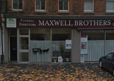 Maxwell Brothers Funeral Directors, London, funeral director in London