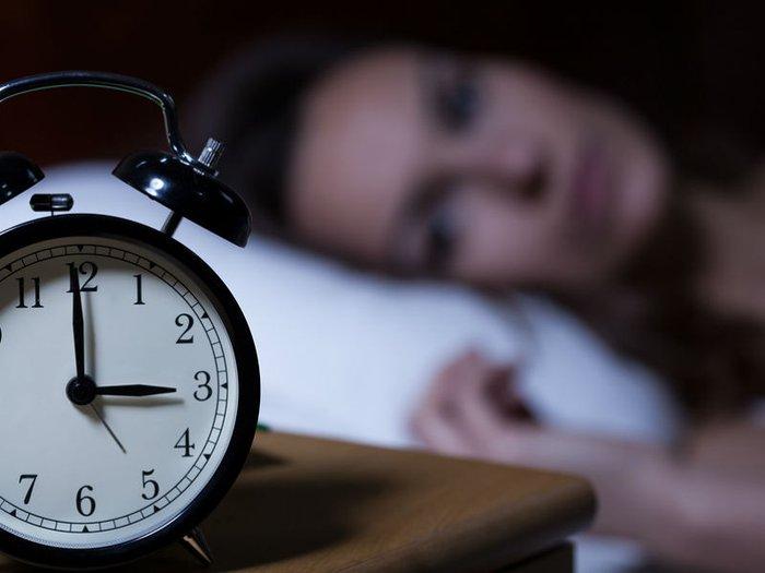 Grief insomnia