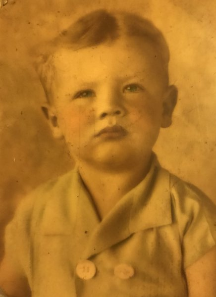 Dad as a child.