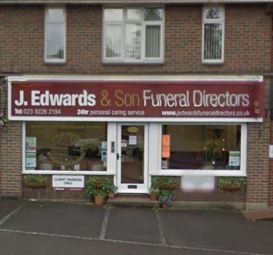 J Edwards Funeral Directors, Waterlooville