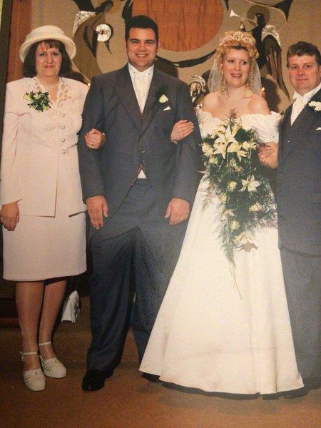 Mum and dad at my wedding