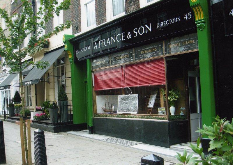 A France & Son, Holborn