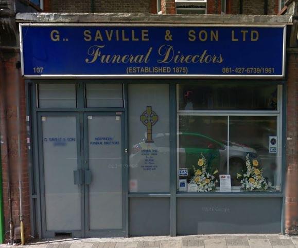 G Saville & Son Ltd, Harrow