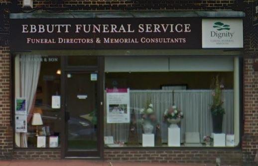 Ebbutt Funeral Directors, Croydon