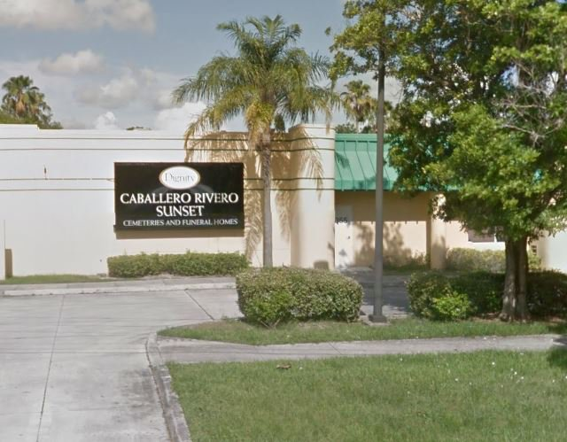 Caballero Rivero Funeral Home, Sunset