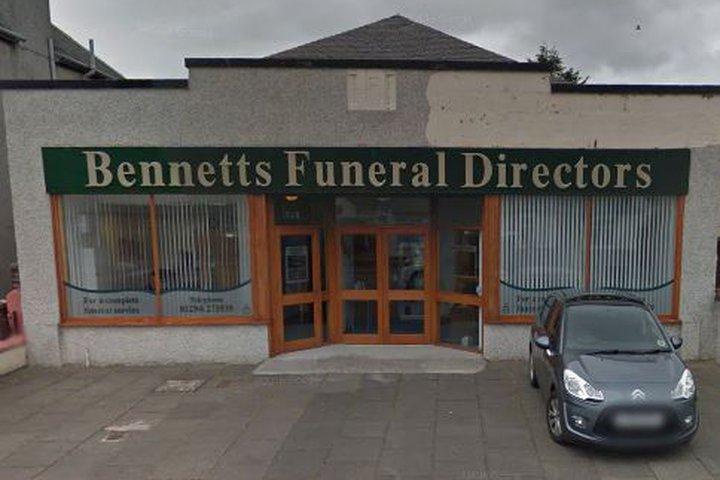 Bennett's Funeral Directors, Irvine