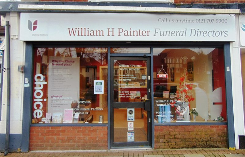 William H Painter Funeral Directors, Dovehouse Parade