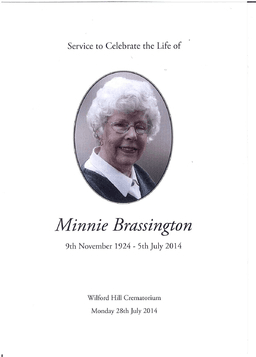 Minnie Brassington