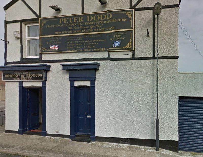 Peter Dodd Independent Funeral Directors, Gladstone St