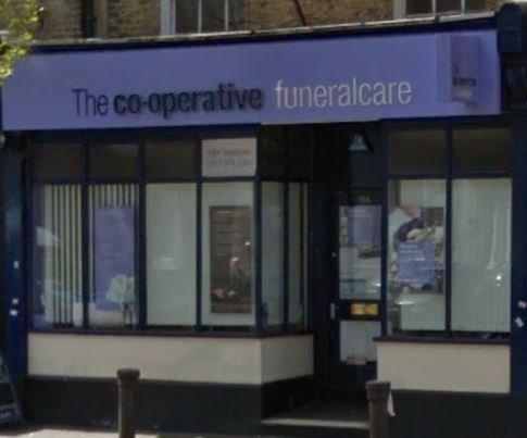 The Co-operative Funeralcare, Camberwell