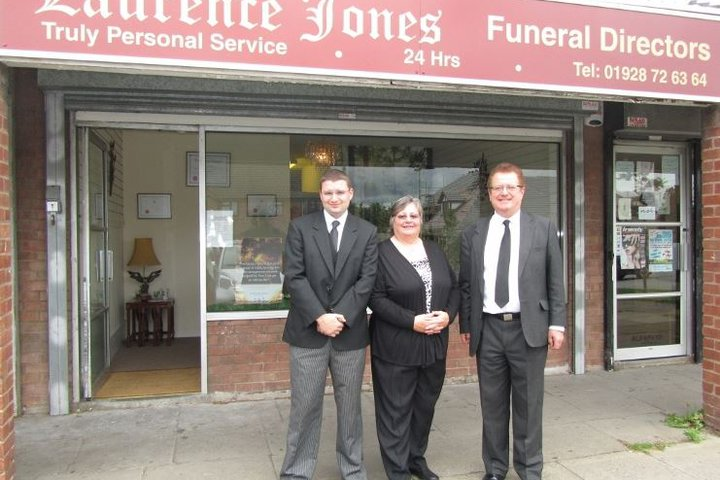 Laurence Jones Funeral Directors, Chester