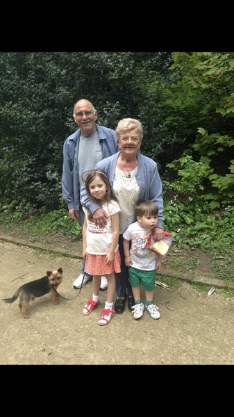 We love you nanny Charlie love your phoebe and Harry x