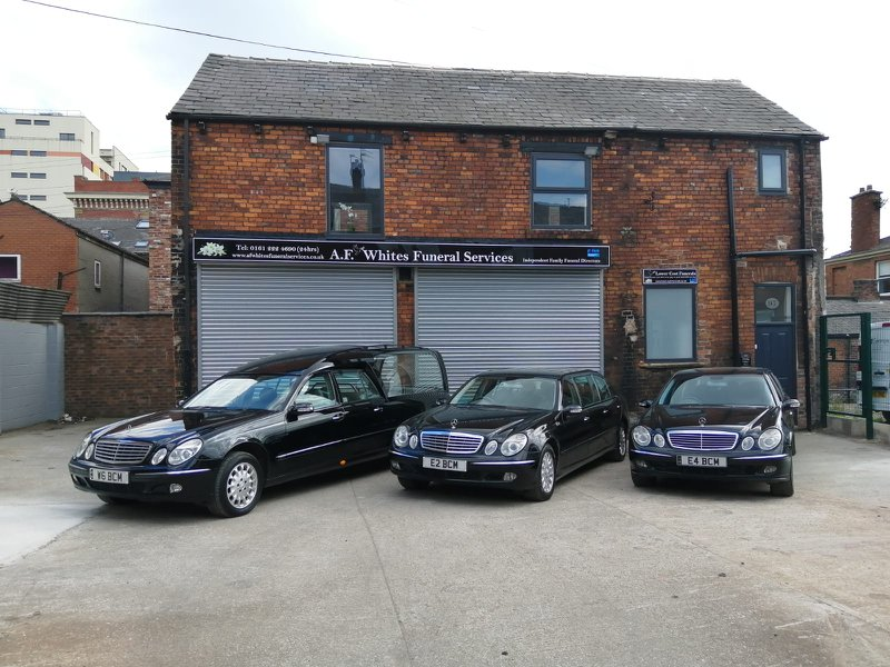 A.F Whites Funeral Services, Ashton Under Lyne, Greater Manchester, funeral director in Greater Manchester