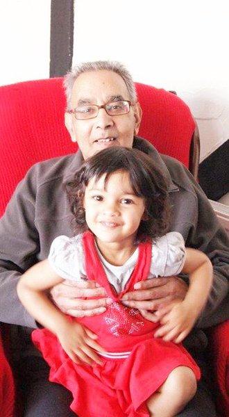 Sofia and grandad 😍