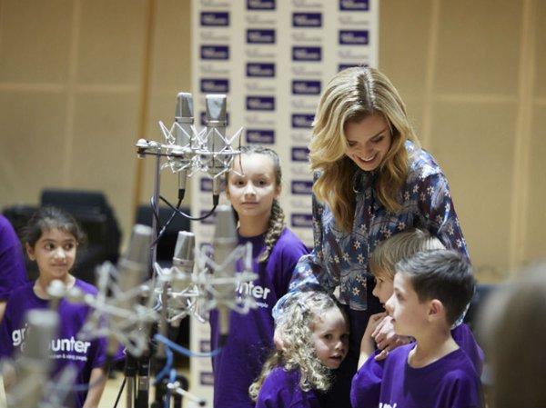 Singer Katherine Jenkins launches Children's Grief Awareness Week