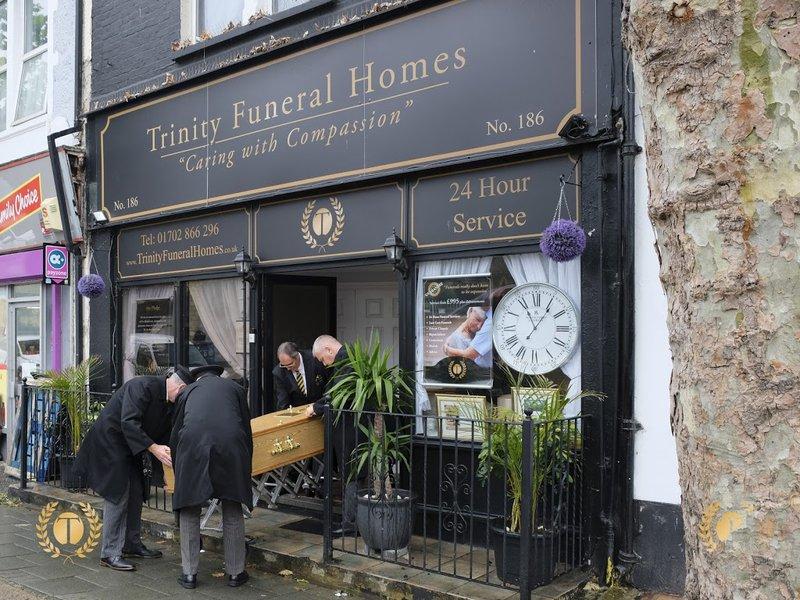 Trinity Funeral Homes, Westcliff-on-Sea, Essex, funeral director in Essex