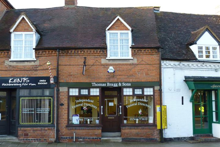Thomas Bragg & Sons Funeral Directors, Knowle
