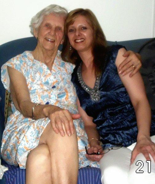 Nana & Nicki  (Nans 95th Birthday)