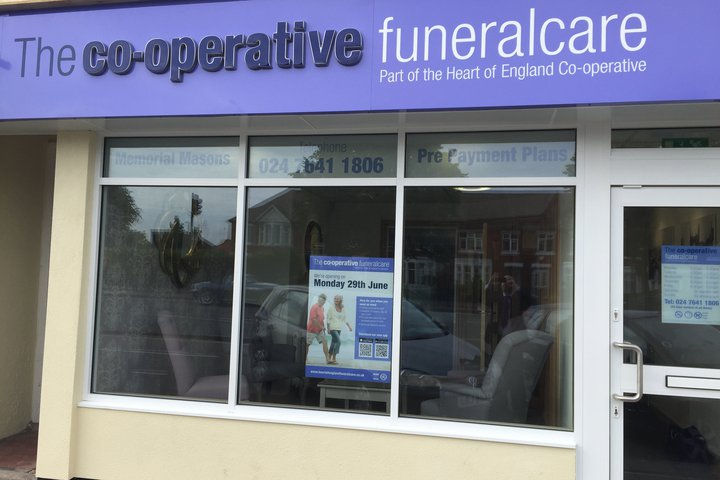 The Co-operative Funeralcare Kenpas Highway