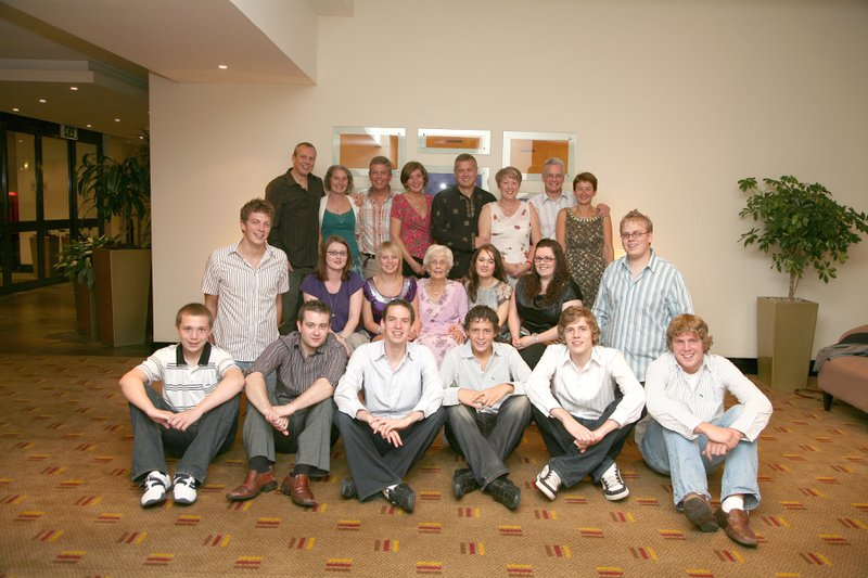 All together at Mam's 80th