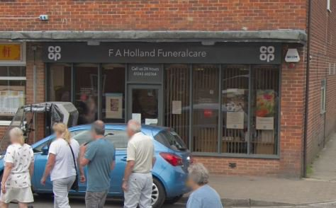 F A Holland & Son Funeralcare, Selsey