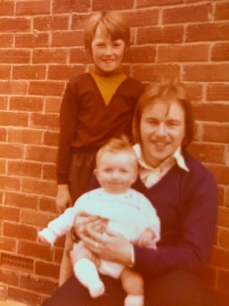 Steve, Stuart & me xx