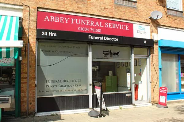 Abbey Funeral Directors, Duston, Northamptonshire, funeral director in Northamptonshire