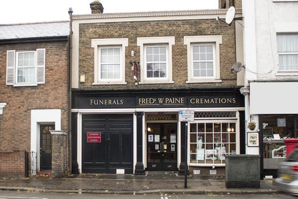 Frederick W Paine Funeral Directors, Isleworth, Middlesex, funeral director in Middlesex