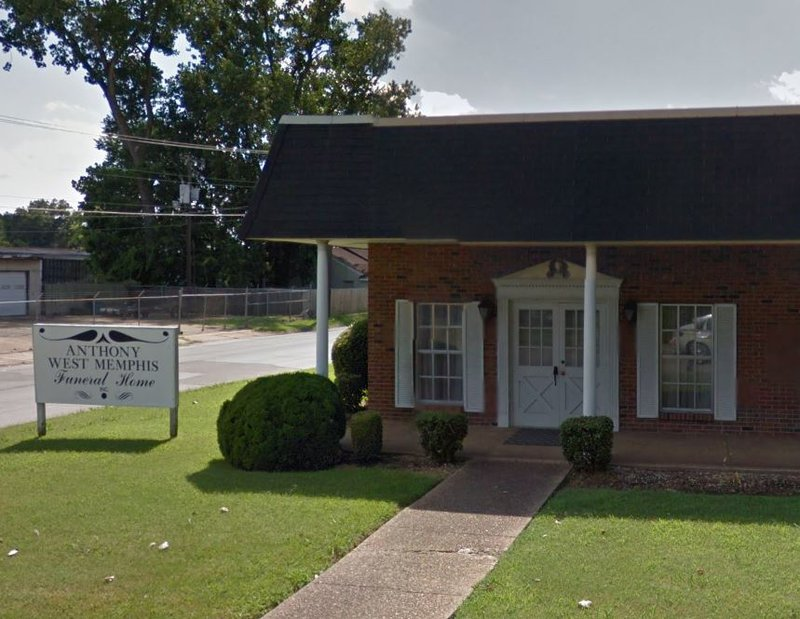 Anthony West Memphis Funeral Home