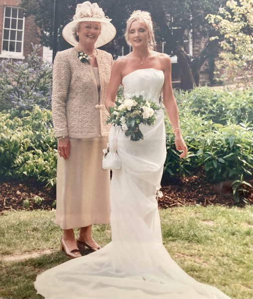 Me and Mum on my wedding day xxx