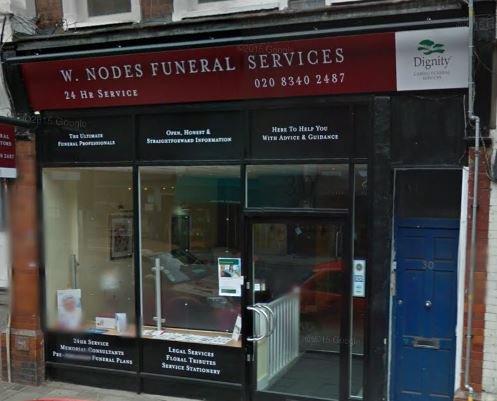 W Nodes Funeral Directors, Crouch End