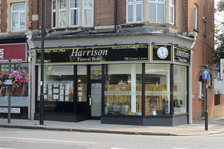Harrison Funeral Home, Winchmore Hill