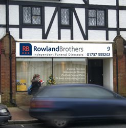 Rowland Brothers Coulsdon, London, funeral director in London