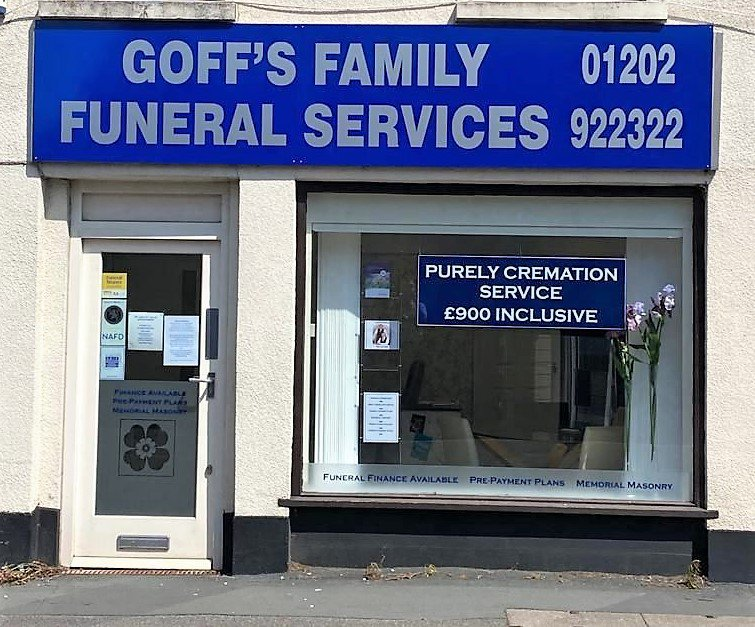 Goff's Family Funeral Services, Dorset, funeral director in Dorset