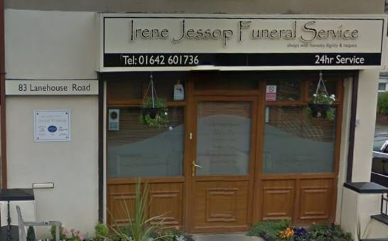 Irene Jessop Funeral Service