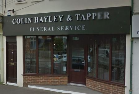 Colin Hayley & Tapper Funeral Service, New Milton