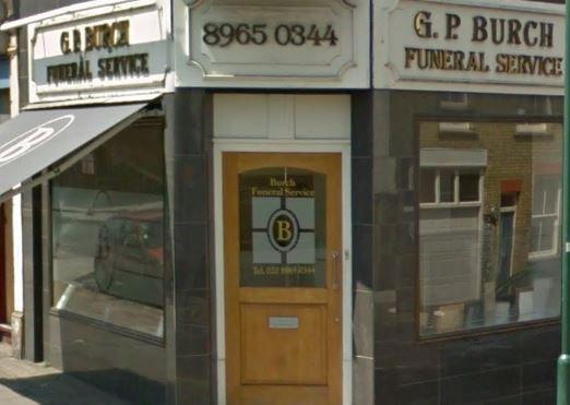 G P Burch Funeral Service