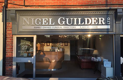 Nigel Guilder Ltd, Eastleigh, funeral director in Eastleigh